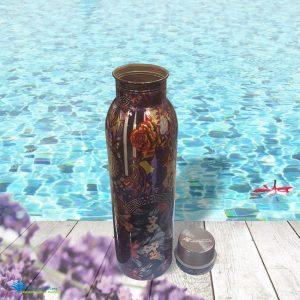 Dung tích 900ml - Bình đượng nước Copper